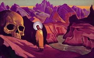 Nicholas Roerich - Issa and the Skull of the Giant