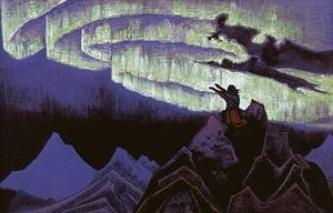 Nicholas Roerich - Moses the Leader
