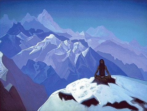 On the Heights Tumo by Nicholas Roerich (1874-1947, Russia) | Museum Quality Copies Nicholas Roerich | WahooArt.com