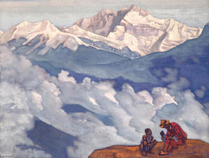 Nicholas Roerich - Pearl of Searching