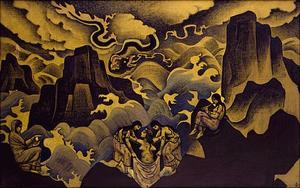 Nicholas Roerich - Serpent Birth of Mysteries