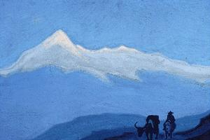 Nicholas Roerich - Solitary Traveler