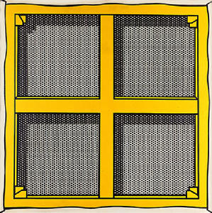 Roy Lichtenstein - Stretcher Frame with Cross Bars III