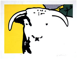 Roy Lichtenstein - Bull Head