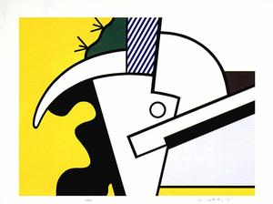 Roy Lichtenstein - Bull Head II