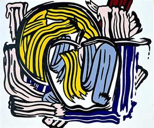 Roy Lichtenstein - Apple and Grapefruit
