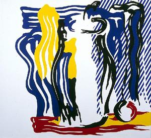 Roy Lichtenstein - Jar and apple