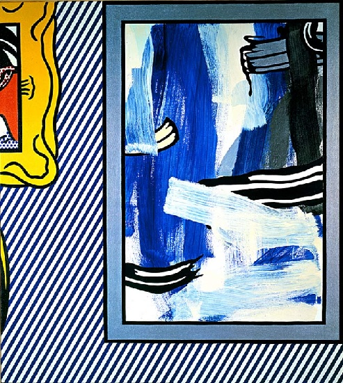 Paintings, 1982 by Roy Lichtenstein (1923-1997, United States) |  | WahooArt.com