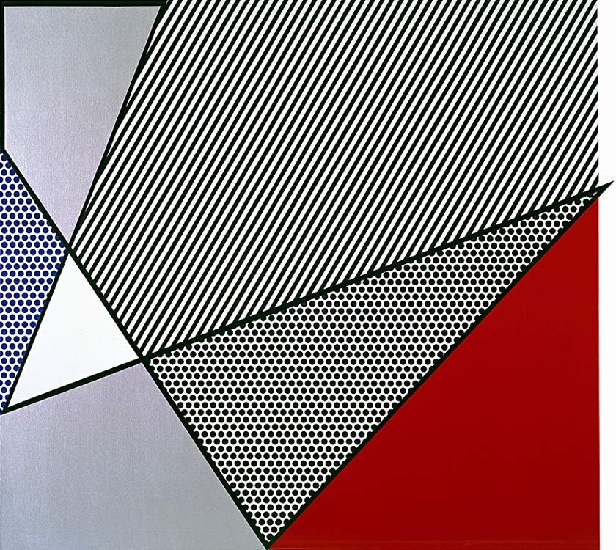 Imperfect Painting, 1986 by Roy Lichtenstein (1923-1997, United States) |  | WahooArt.com