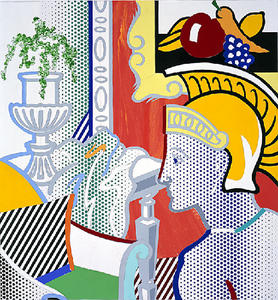 Roy Lichtenstein - Collage for Interior with Ajax