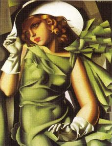 Tamara De Lempicka - Girl with Gloves