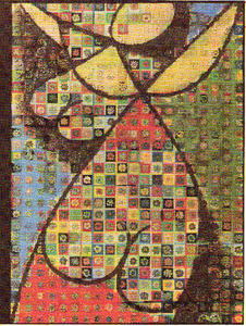 Victor Vasarely - Flower girl
