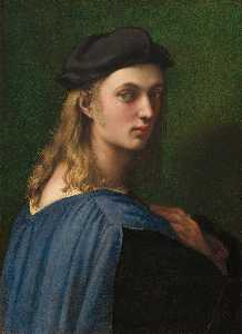 Raphael (Raffaello Sanzio Da Urbino) - Portrait of Bindo Altoviti - (Famous paintings reproduction)