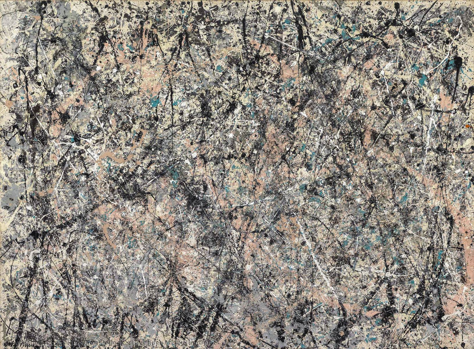 Lavender Mist_Number 1, Oil by Jackson Pollock (1912-1956, United States)