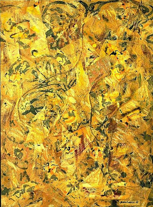 Number 2, 1951 by Jackson Pollock (1912-1956, United States)