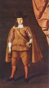 Francisco Zurbaran - Portrait of the Duke of Medinaceli