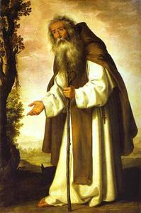 Francisco Zurbaran - St. Anthony Abbot