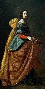 Francisco Zurbaran - St. Elizabeth of Portugal