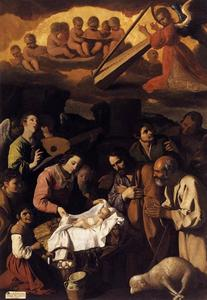 Francisco Zurbaran - The Adoration of the Shepherds