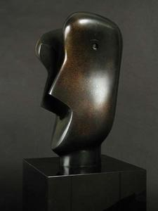 Henry Moore - Divided Head