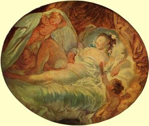 Jean-Honoré Fragonard - All Ablaze
