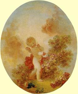 Jean-Honoré Fragonard - Love as Conqueror