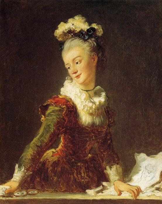 Marie-Madeleine Guimard, Dancer by Jean-Honoré Fragonard (1732-1806, France) | Famous Paintings Reproductions | WahooArt.com