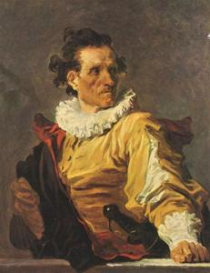 Jean-Honoré Fragonard - Portrait of Man (The Warrior)