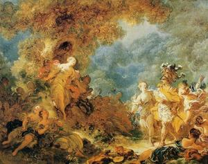 Jean-Honoré Fragonard - Rinaldo in the Gardens of Armida