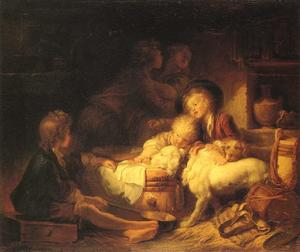 Jean-Honoré Fragonard - The Farmers- Children