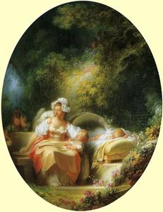 Jean-Honoré Fragonard - The Good Mother
