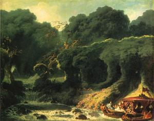 Jean-Honoré Fragonard - The Isle of Love