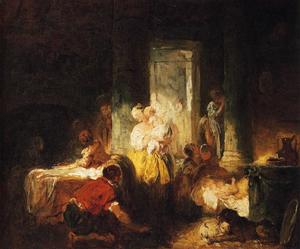Jean-Honoré Fragonard - The Italian Family