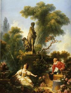 Jean-Honoré Fragonard - The Meeting