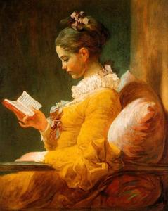 Jean-Honoré Fragonard - The Reader