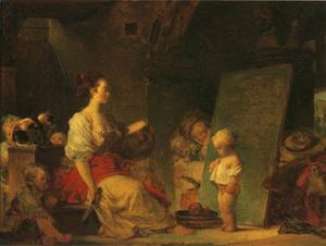 Jean-Honoré Fragonard - The Schoolmistress