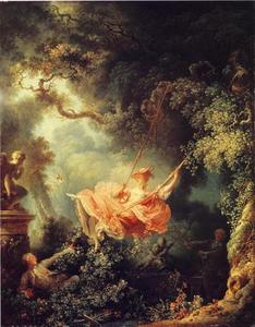 Jean-Honoré Fragonard - The Swing_