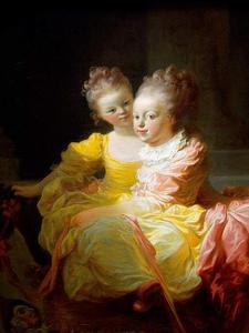 Jean-Honoré Fragonard - The Two Sisters