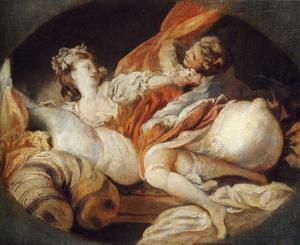 Jean-Honoré Fragonard - The Useless Resistance