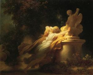 Jean-Honoré Fragonard - The Vow to Love
