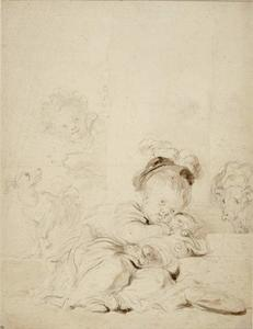 Jean-Honoré Fragonard - The Wrapped-up Cat