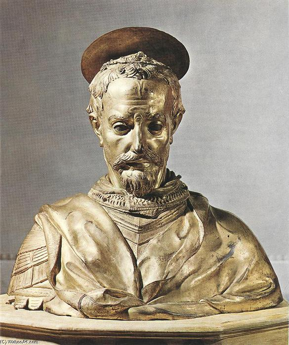 St Rossore, Bronze by Donatello (1386-1466, Italy)
