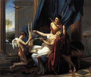 Jacques Louis David - Sappho and Phaon