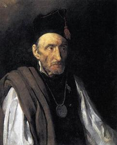 Jean-Louis André Théodore Géricault - Man with Delusions of Military Command