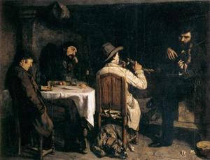 Gustave Courbet - After Dinner at Ornans