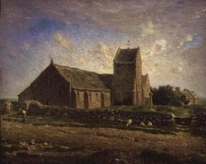 Jean-François Millet - The Church at Greville