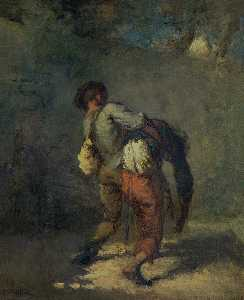 Jean-François Millet - The Good Samaritan