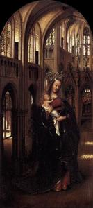 Jan Van Eyck - Madonna in the Church