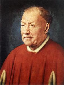 Jan Van Eyck - Portrait of Cardinal Niccolò Albergati