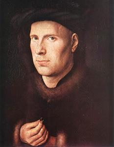 Jan Van Eyck - Portrait of Jan de Leeuw